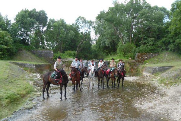 22S - Przeprawa przez rzeką Tabor w Rymanowie Zdroju.