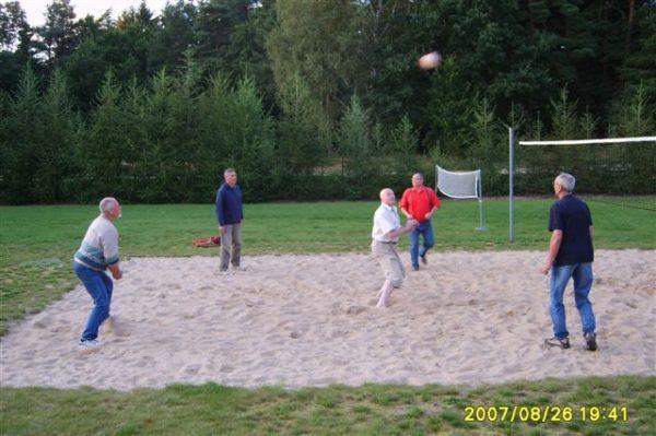 Tradycyjny mecz siatkówki